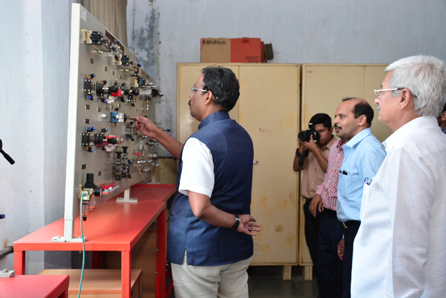 State Education Minister visit SSN Campus 2